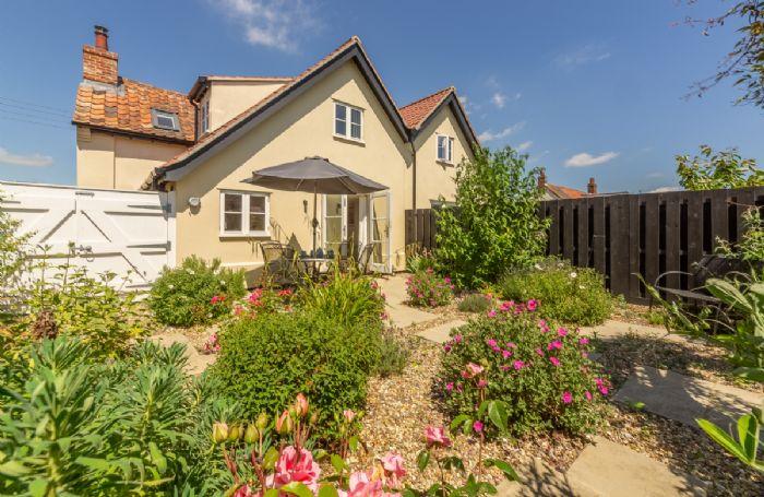 Briar Cottage has a delightful rear garden