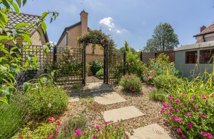 The garden at Briar Cottage
