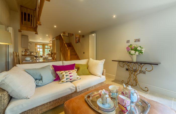 Ground floor: The comfortable open plan sitting room