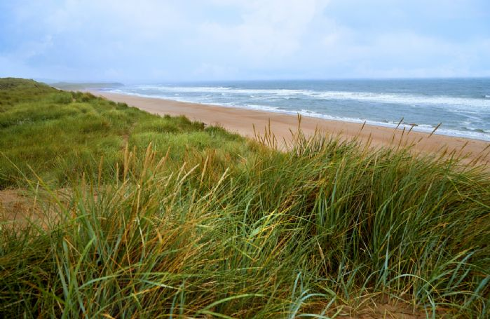 Cheswick Sands is a mere 10 minute walk from the property