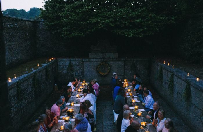 18th century bath house for dinner parties