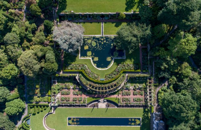 The grounds at Bodnant Estate