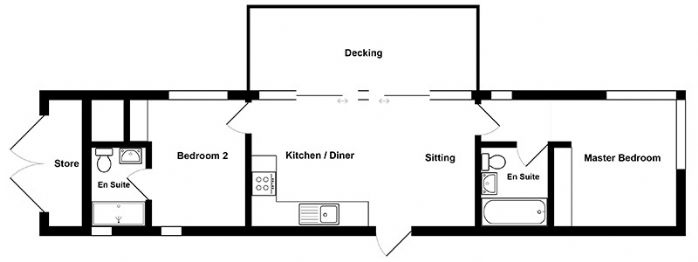 The Listening Station Floor Plan