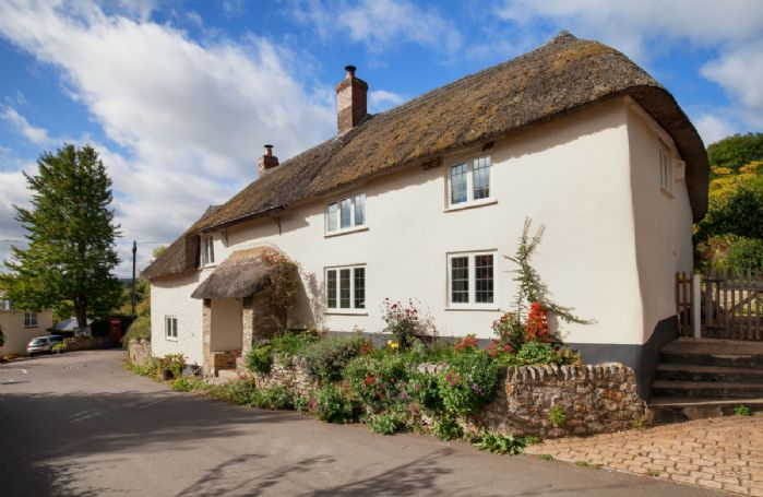 This historic semi detached cottage, with parking for one car to the side of the property