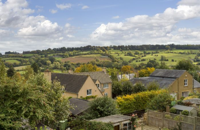 Breathtaking views over the hills in Blockley and surrounding area