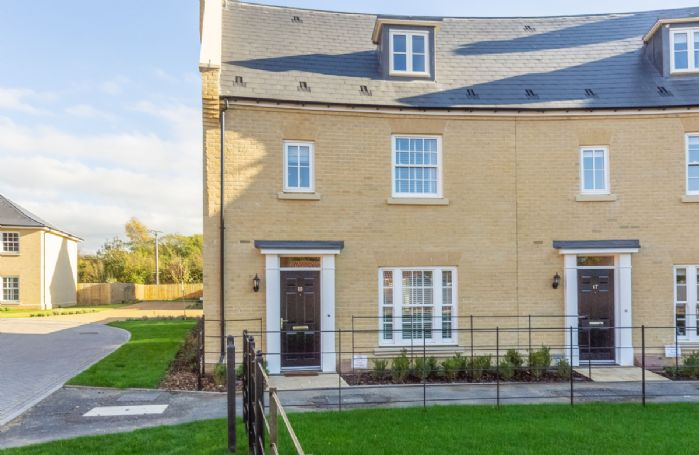 Silver Birches is a spacious three storey end terrace mews house forming part of an attractive crescent of properties