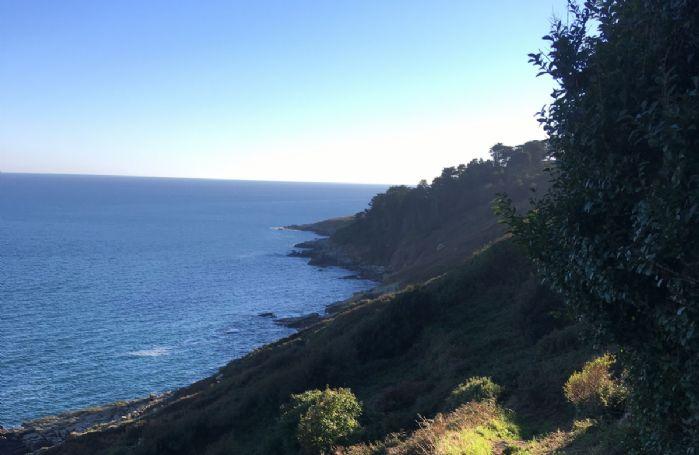 Beautiful coastal footpath just a short walk from The Langley Tarne