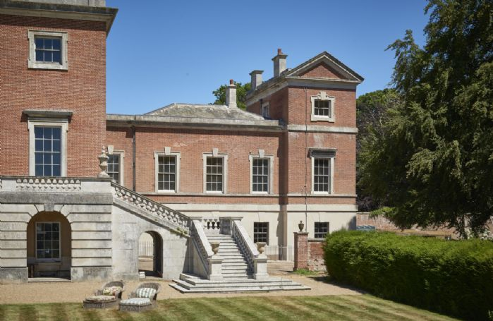 Occupying one wing of an impressive Georgian Palladian house is The East Wing