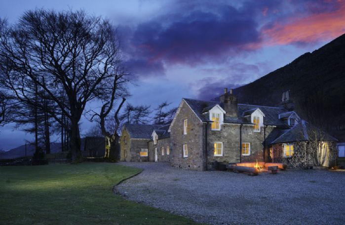 Conichan sits in a 6,500-acre estate, nestled on the north bank of the River Almond