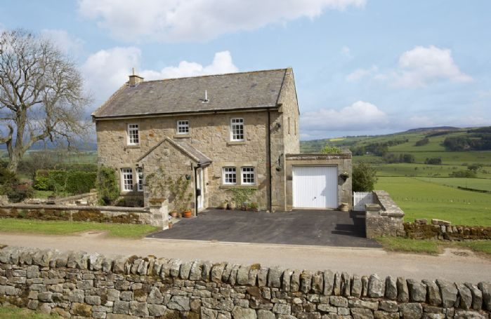 Croft House is a three-storey traditional stone cottage with spectacular countryside views