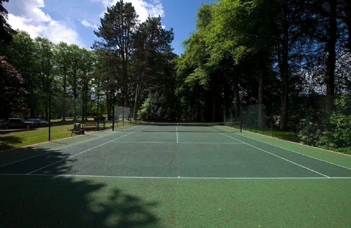 Tennis Courts at Fort Augustas