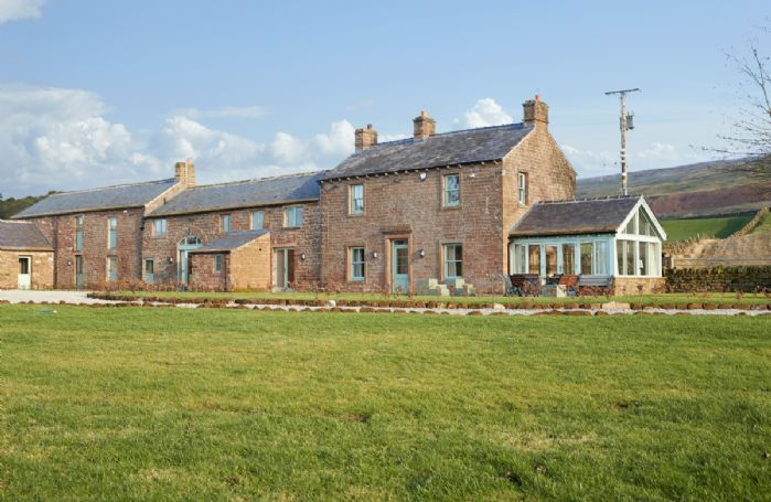Todd Hills Hall Farmhouse, Gill Beck Barn and Vale Croft are located in the rolling landscape of the Eden Valley