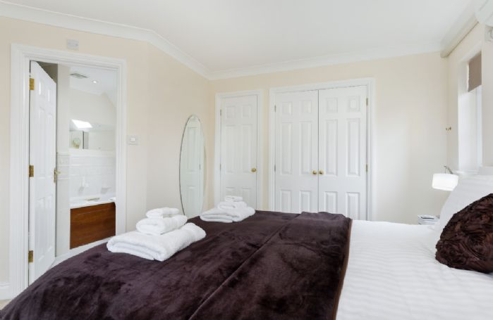 First floor: En suite bathroom leads off from the master bedroom