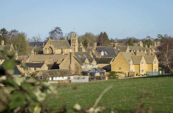 Chipping Campden is a short stroll through the field via a footpath