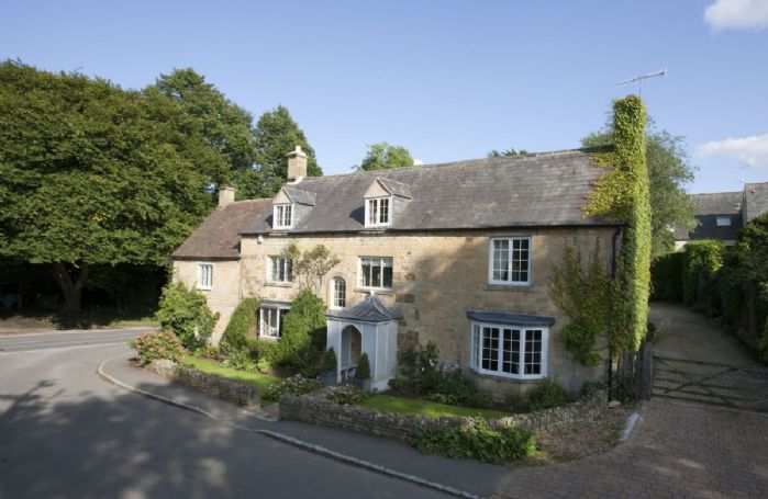 This elegant period property sits on the edge of Chipping Campden