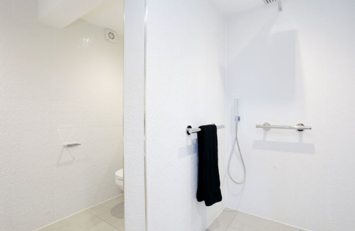 First floor: Ensuite with walk in shower