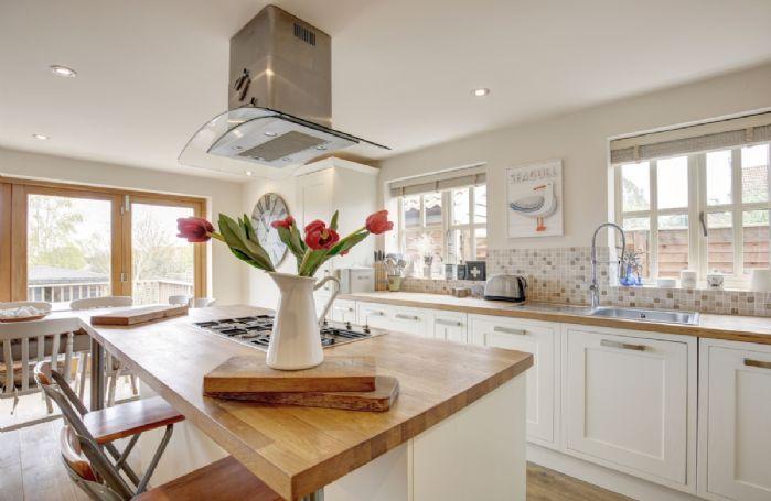 Ground floor: Open plan kitchen