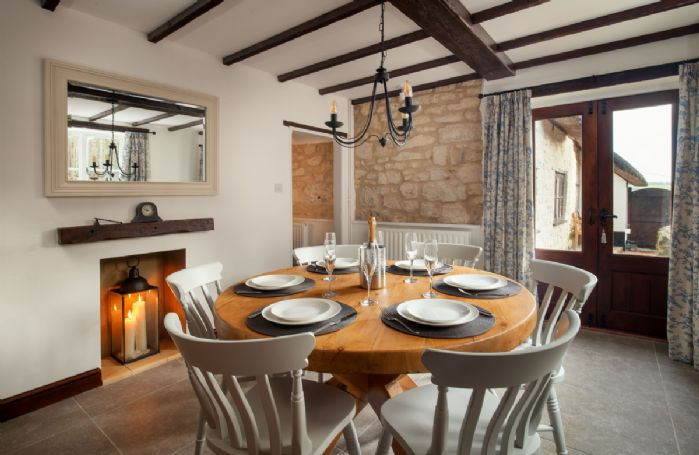 Ground floor: Breakfast room with French doors leading to the garden