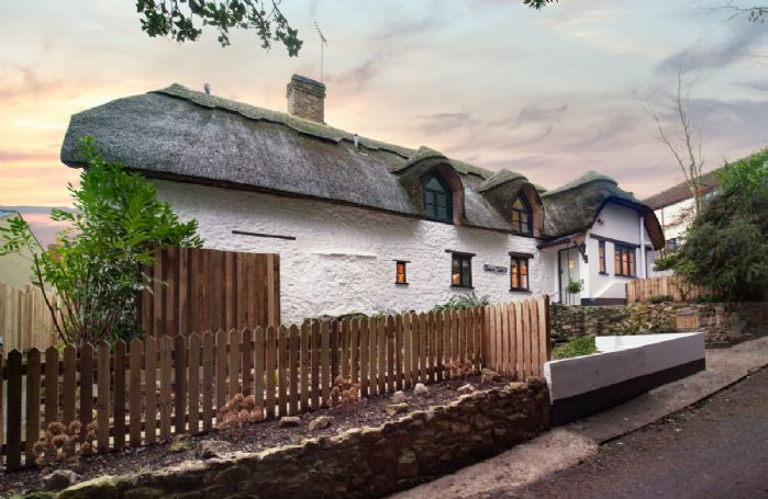 Smithycroft is a traditional thatched cottage with many original features