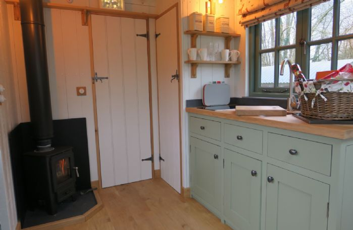 Attention to detail including a woodburner and en-suite bathroom
