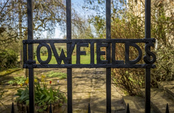 Lowfields wrought iron gates