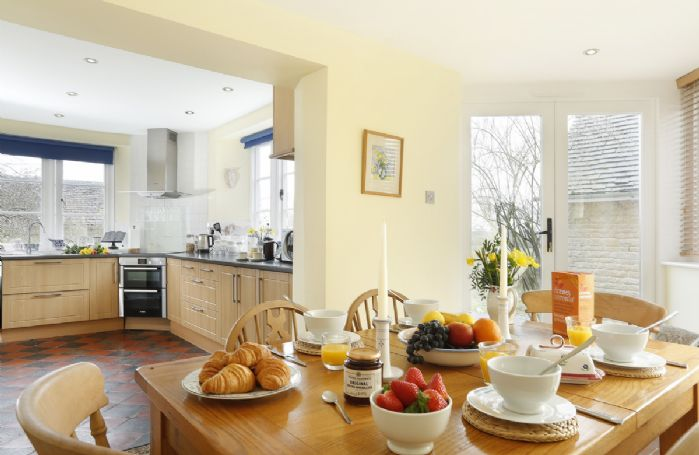 Ground floor: Large open plan kitchen and dining room