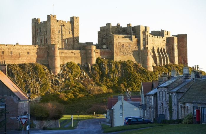 Visit the historic and spectacular Bamburgh Castle just two miles away