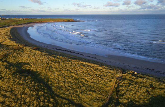 The beautiful beaches of Bamburgh, Embleton and Beadnell are just a short drive away