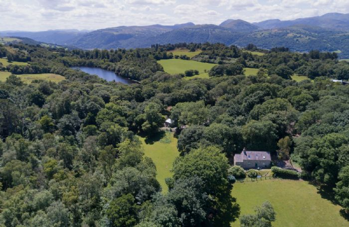 The property is set in the heart of the Bodnant Estate