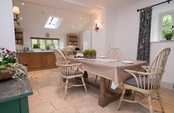 Ground floor: The kitchen has underfloor heating throughout