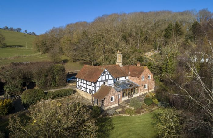 A beautiful, Grade II listed period property nestled under Bredon Hill