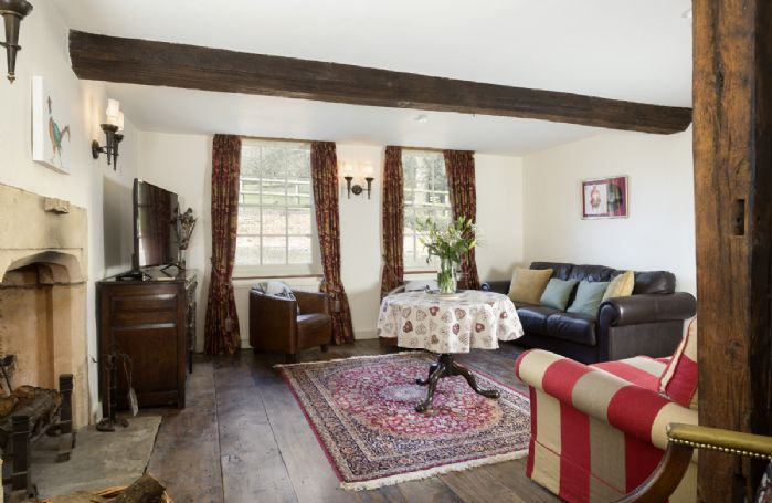 Ground floor: Original wooden flooring and many period features throughout