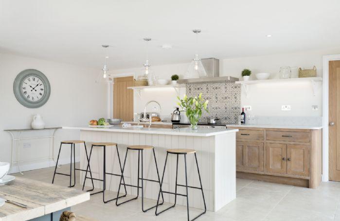 Ground floor: Open-plan kitchen