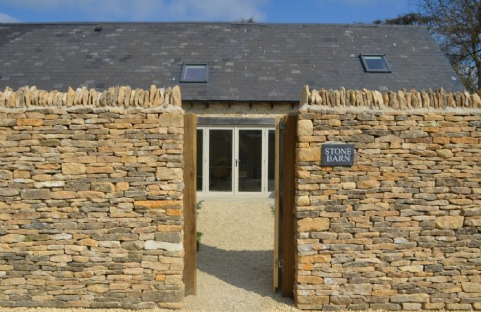 The entrance to your Stone Barn holiday home