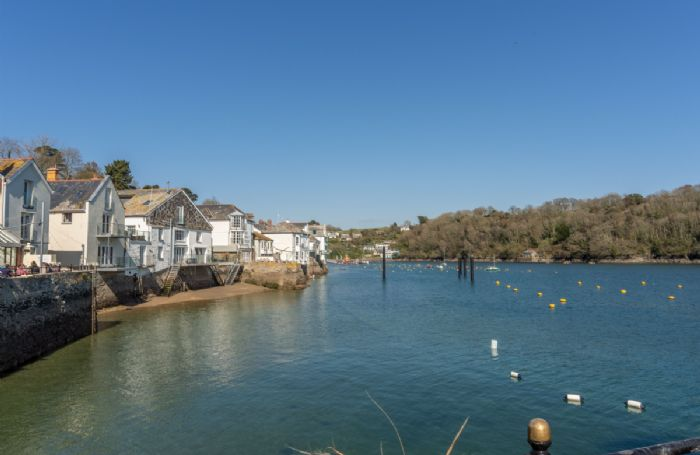 Stunning views of the Fowey harbour area