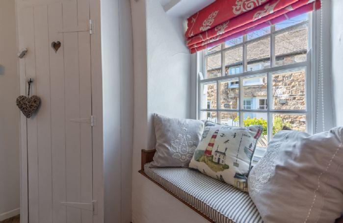 Cornish box sash windows with window seats