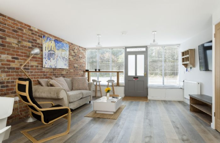 Ground floor: Light, spacious and airy open-plan living space at The Old Antique Shop
