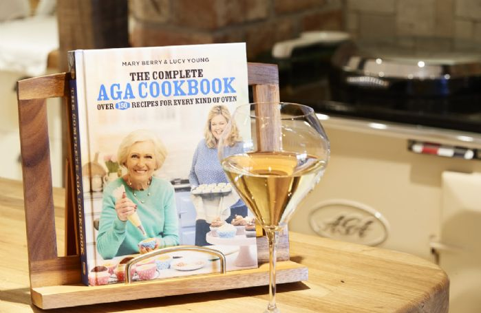 Lower ground floor:  Mary Berry can assist with any Aga queries!