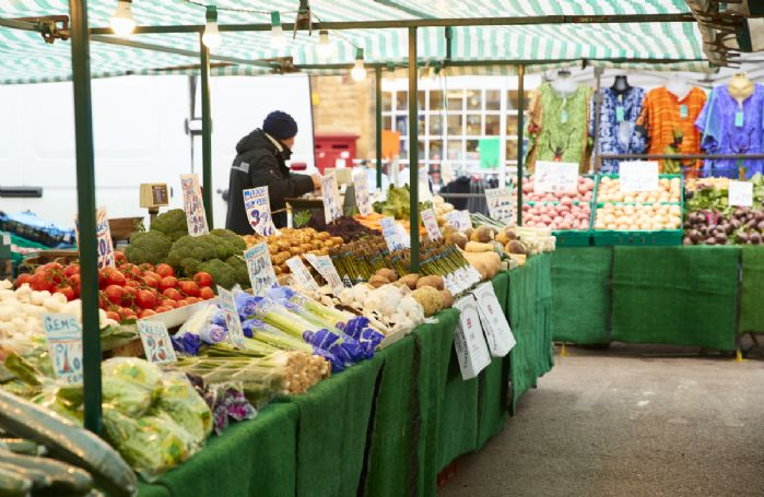 Nearby Moreton-in-Marsh's weekly Tuesday market