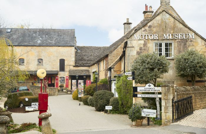 The Cotswold Motor Museum is located in the nearby, picturesque village of Bourton-on-the-Water