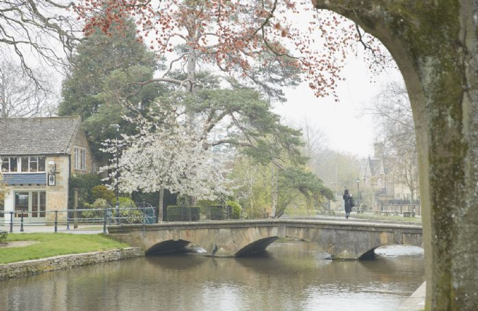 Nearby Bourton-on-the-Water, known as the Venice of the Cotwolds