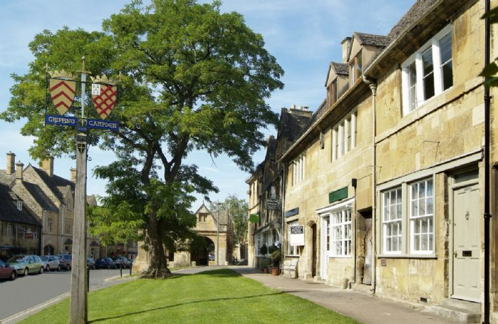 Chipping Campden's attractive High Street
