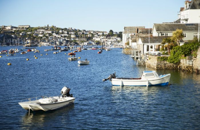 Fowey is one of the jewels of the south Cornish coast