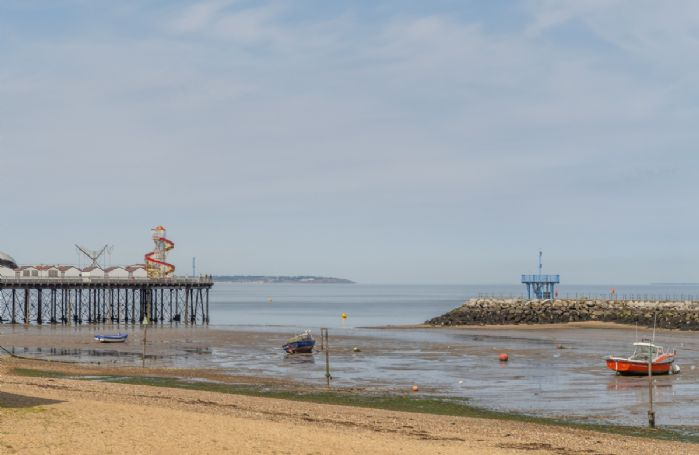The resort of Herne Bay is a popular destination for water sports but is still suitable for sandcastles, swimming and excellent fishing too