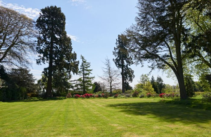 Guests have access to four acres of landscaped gardens