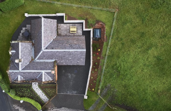 Aerial view of Netherwood Lodge