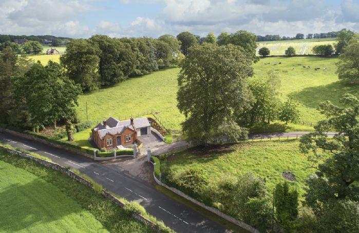 Stunning countryside views all around Netherwood Lodge