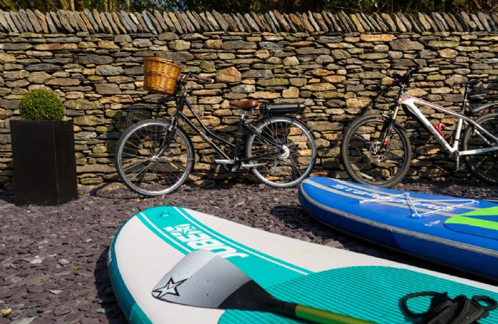 Bikes, paddle boards and outdoor activities available to hire nearby