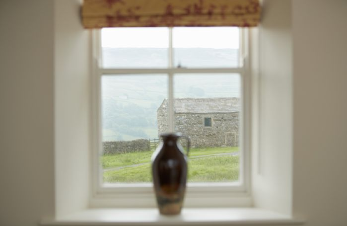 Spectacular views of the Yorkshire Dales from every window