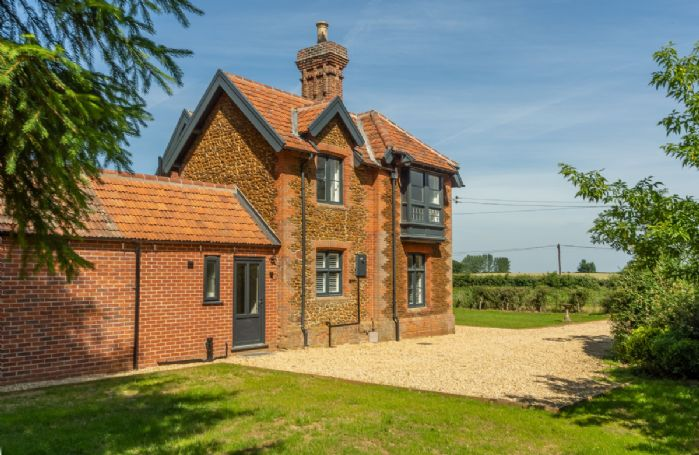 Set on an arable farm, with the rolling Norfolk countryside stretching in all directions
